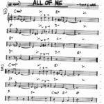 Lezioni di chitarra: All of me armonizzare un tema