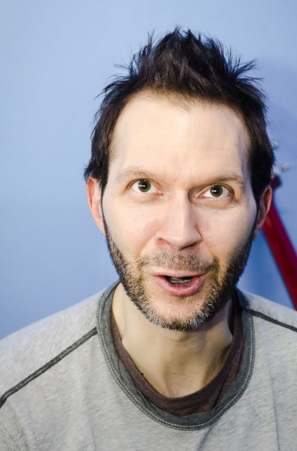 Paul Gilbert, at InRock Interview. Paul Gilbert live at Moscow Hall. Moscow, Russia. April 18. 2013. Photo by Katerina Mezhekova for InRock.
