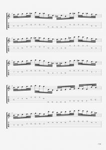 Tecniche sulla chitarra importante brano da studiare